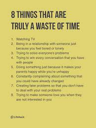 8 Reasons Time Is A Waste Of Time